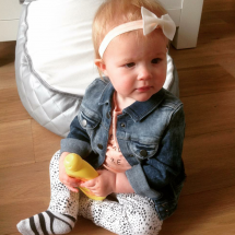 Happy Customer - handgemaakt baby haarbandje