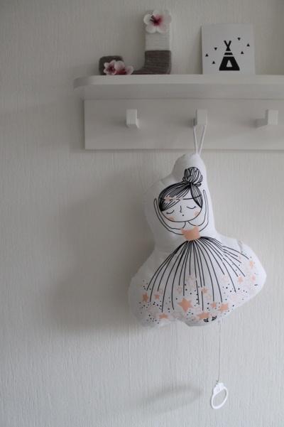 Ballerina met muziekdoosje