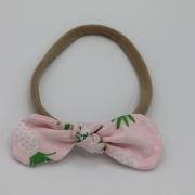 Haarband pink pineapple strik