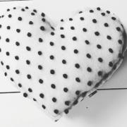 Dots hart kussen