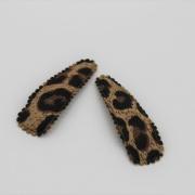 Setje haarspeldjes leopard