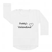 Shirt Daddy's Valentine Monochrome