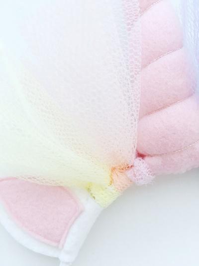Unicorn diadeem roze