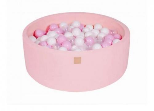 Ballenbak roze met 200 ballen
