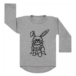 Grijs shirt cool bunny