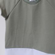 Nova Dress GreenWhite