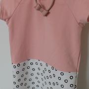 Nova Dress PinkWhite