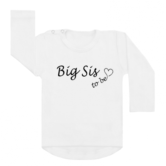 Shirt Big Sis To Be wit