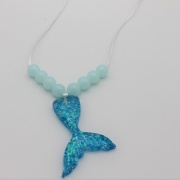 Kinderketting blue mermaid