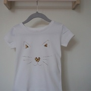 Shirt leopard cat