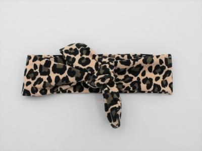 Wrap haarband leopard