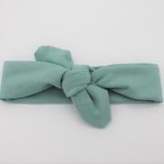 Wrap haarband mint groen