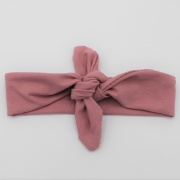 Wrap haarband vintage roze