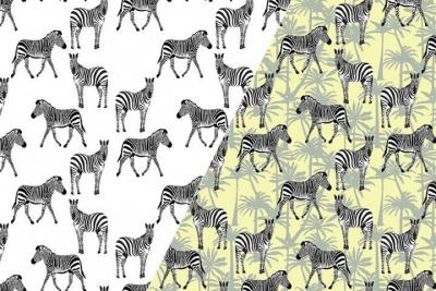 Handgemaakte colsjaal zebra (uv stof!)