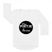 Sinterklaas shirt wit mini pietje