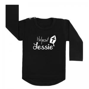 Sinterklaas Shirt Zwart Hulpsint
