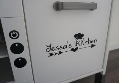 Keuken Sticker Kast Deur