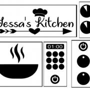 Ikea Duktig Keuken sticker set