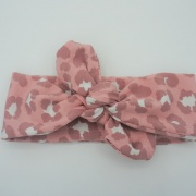Wrap haarband pink panter