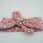 Wrap haarband pink panter