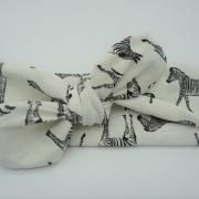 Wrap haarband zebra (uv stof)