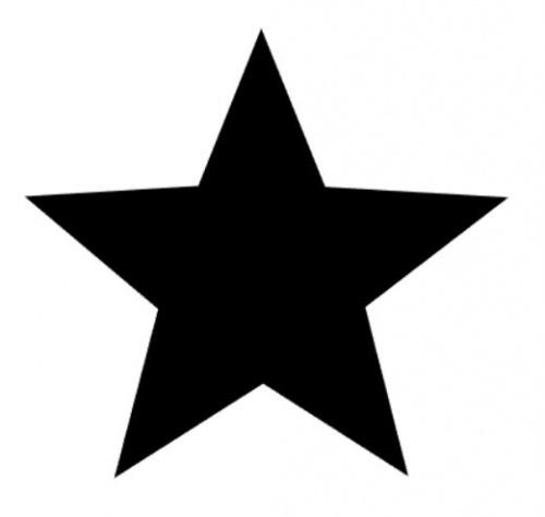 Strijkapplicatie ster
