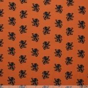 Wrap haarband oranje leeuw