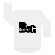 Big brother silhouet shirt wit