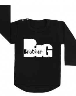 Big brother silhouet shirt zwart