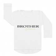 Brother with name gold shirt wit