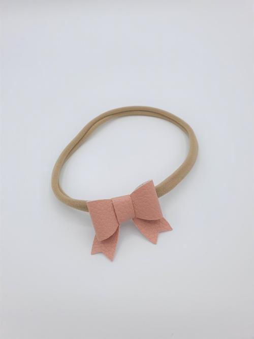 Haarbandje roze sierlijke strik
