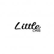 Strijkapplicatie Little one