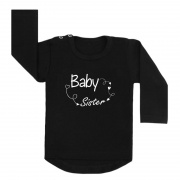 baby sister arrows shirt zwart