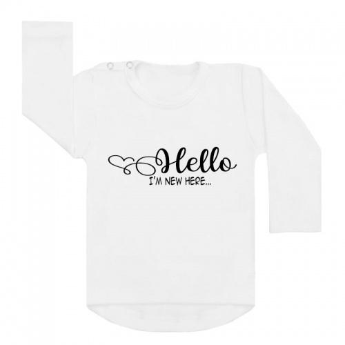 hello new here shirt wit