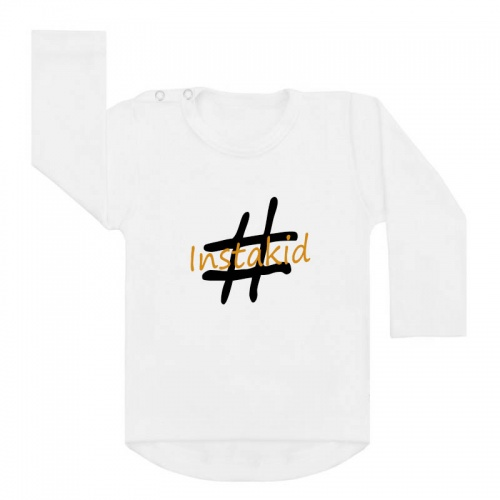instakid shirt wit