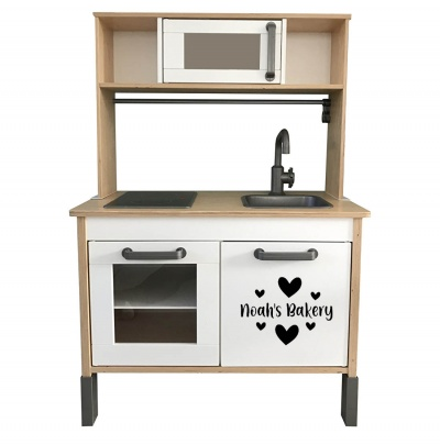 Ikea Duktig keukensticker kastdeur bakery