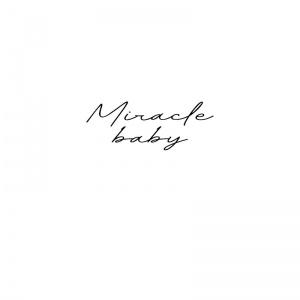strijkapplicatie miracle baby