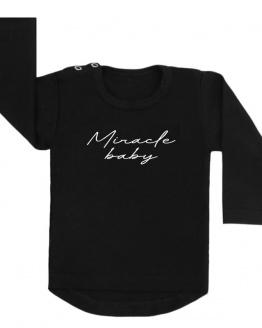 miracle baby shirt zwart