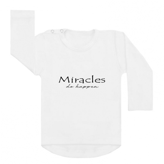 miracles happen shirt wit