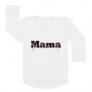 shirt wit mama je bent lief moederdag