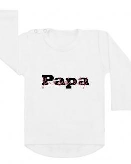 shirt wit papa je bent lief vaderdag