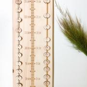 Houten groeimeter XL