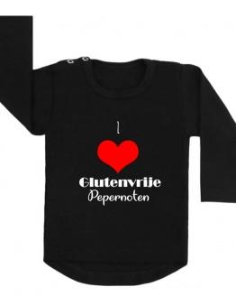 shirt I love glutenvrije pepernoten