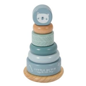 Little Dutch geboortepiramide blauw