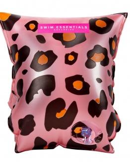 Rosé gouden leopard zwembandjes 0-2 jaar