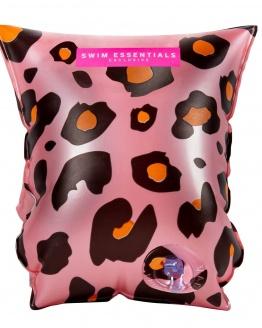 Rosé gouden leopard zwembandjes 2-6 jaar