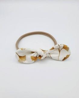 haarband golden leaves strik