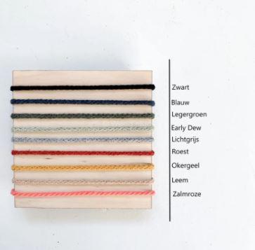 Kleuren koord DIY bord
