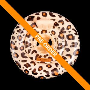 Beige leopard baby zwemband