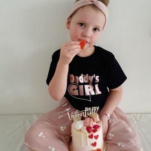 Shirt daddy's girl hart